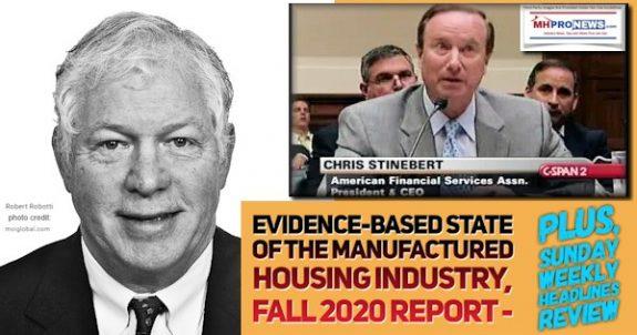 Evidence-BasedStatOfManufacturedHousingIndustryFall2020ReportSundayWeeklyHeadlinesReviewMHProNews