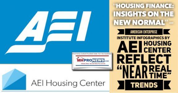 HousingFinanceInsightsOnNewNormalAmericanEnterpriseInstituteInfographicsAEI.HousingCenterReflectNearRealTimeTrendsMHProNews